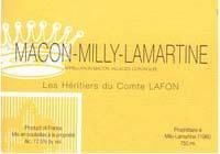 2010 Les Heritiers du Comte Lafon Macon-Milly Lamartine