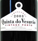 2011 Quinta Do Vesuvio Vintage Port