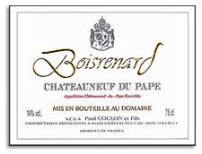 2009 Domaine de Beaurenard Chateauneuf-du-Pape Cuvee Boisrenard
