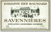 2015 Domaine des Baumard Savennieres