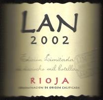 2002 Bodegas Lan Edicion Limitada Rioja