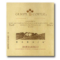2007 Giuseppe Cortese Barbaresco Vigna Rabaja