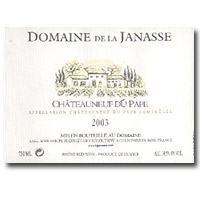 2007 Domaine de la Janasse Chateauneuf-du-Pape