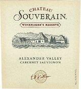 2012 Souverain Cabernet Sauvignon Winemaker's Reserve Alexander Valley