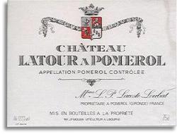 2012 Chateau Latour A Pomerol Pomerol