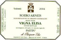 Vv Paitin Di Pasquero Elia Roero Arneis Vigna Elisa