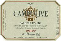 2010 Paitin di Pasquero Elia Barbera d'Alba Superiore Campolive