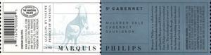 2001 Marquis Philips Cabernet Sauvignon S2 Mclaren Vale