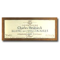 1990 Charles Heidsieck Blanc des Millenaires (From Private Cellar)