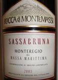 2010 Tenuta Rocca Di Montemassi Sassabruna Monteregio Di Massa Marittima