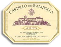 2004 Castello dei Rampolla d'Alceo Toscana (Pre-Arrival)