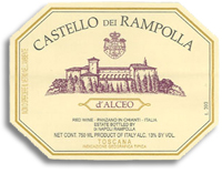 1997 Castello dei Rampolla d'Alceo Toscana