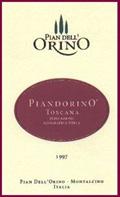 2010 Pian dell' Orino Piandorino