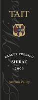 2010 Tait Wines Shiraz Basket Pressed Barossa Valley