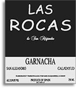 2012 Las Rocas de San Alejandro Garnacha Calatayud