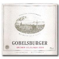 2010 Schloss Gobelsburg Gruner Veltliner Gobelsburger