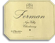2010 Forman Vineyards Chardonnay Napa Valley
