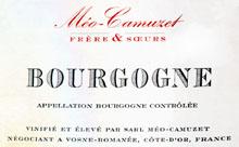 1996 Domaine Meo-Camuzet/Meo-Camuzet Frere & Soeurs Bourgogne Rouge