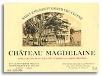 1996 Chateau Magdelaine Saint-Emilion