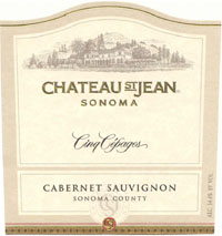 2007 Chateau St. Jean Cinq Cepages Red Wine Sonoma County