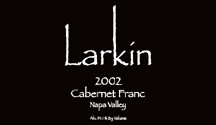 2006 Larkin Cabernet Franc Napa Valley