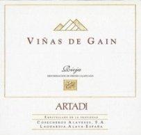 2008 Bodegas Artadi Vinas De Gain Rioja