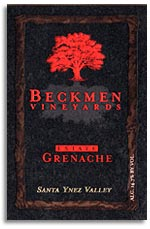 2007 Beckmen Vineyards Grenache Estate Santa Ynez Valley
