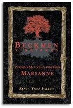 Vv Beckmen Vineyards Marsanne Purisima Mountain Vineyard Santa Ynez Valley