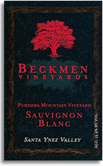 2008 Beckmen Vineyards Sauvignon Blanc Purisima Mountain Vineyard Santa Ynez Valley