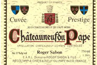 2009 Domaine Roger Sabon Chateauneuf-du-Pape Prestige