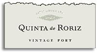 2003 Quinta De Roriz Vintage Port