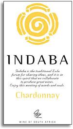 2013 Indaba Chardonnay Western Cape