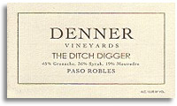 2010 Denner Vineyards The Ditch Digger Paso Robles