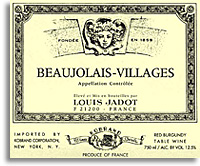 Vv Domainemaison Louis Jadot Beaujolais Villages