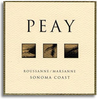 2010 Peay Vineyards Roussannemarsanne Estate Sonoma Coast