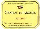 2009 Chateau De Fargues Sauternes